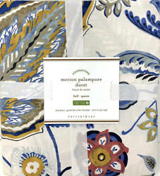 Newpottery Barn Merion Palampore Duvet Coverf/qfull Queen