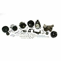 March Performance 21690-08 Pulleys Sport Track Serpentine For Chevy Sb New