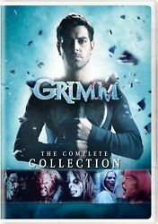 Grimm The Complete Collection Dvd Box Set Tv Series David Russell Show Season Us