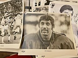 50+ Lot Signed Photos- New York Jets Super Bowl Champs-players Signed 1968-1969