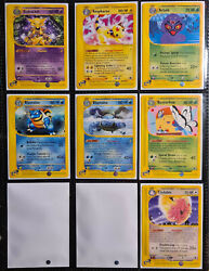 Pokemon Expedition Base Set Near-complete - All Rares Uncommon Common Near-mint