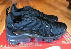Nike Womenand039s Air Vapormax Plus Black Anthracite Dh1063 001 Size 8