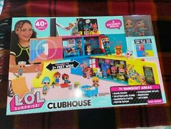 Lol Surprise Remix Clubhouse Playset Fold Up House 2 Exclusive Tots Doll