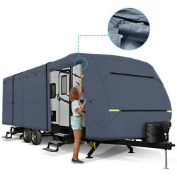 All-weather Travel Trailer Rv Motorhome Storage Cover Toy Hauler Length 27-30ft