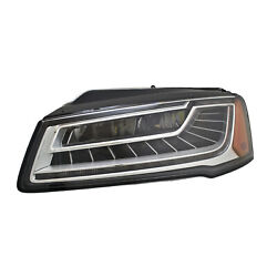 Au2518109 New Replacement Driver Side Headlight Lens And Housing Led