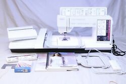 Mint Pfaff Creative Sensation Pro Sewing Quilting And Embroidery Machine W/ Idt