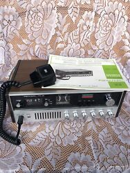 Realistic Trc-55 23 Channel Am Base/mobile Cb Radio With Manual - Power Tested