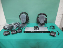 Tom Com 2 Chan 6 Station System Expandable 5 Pin Rts Telex Clear Com Compatable