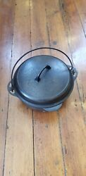 Griswold Cast Iron Number 8 Dutch Oven