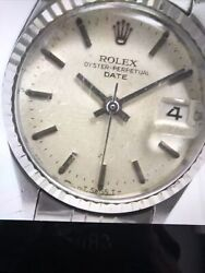 Rolex Oyster Perpetual Date 6517 Cal.1161 Automatic Ladies Watch
