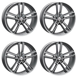 4 Autec Rias Wheels 85x20 5x112 Tm For Audi A4 A5 A6 A7 A8 Q3 Q5 Rs 3 Rs Q3 S4