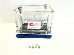 Applikon Gas-tight Box For Anaerobic Or Custom Atmospheres 2 Clamp Positions