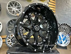 4x20 Inch 6x135 12j Et -44 Lonestar Offroad Alloy Wheels For Ford F150