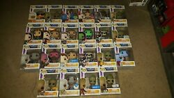 Funko Pop Marvel Guardians Of The Galaxy Vol. 2 Lot Of 22 Pops