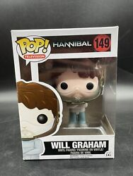 Funko Pop Television Hannibal Lecter Will Graham 149 - New W/ Pop Protector