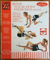 Bally Total Fitness Lifebelt Total Body Exerciser With Dvd Nib