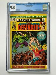 Marvel Feature 2, Marvel Comics, Cgc 9.0, 2nd Appearance Of Defenders