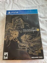Final Fantasy Type 0 Hd Collector Edition Ps4 Factory Sealed Square Enix Rpg