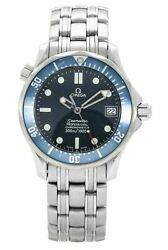 Omega Seamaster Automatic Wave-dial 36mm Stainless Steel Watch 2222.80.00
