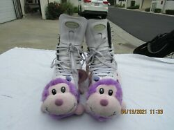 Women's Riedell Ice Skates 223 Size 5 Capri Blades Very Nice Blade Covers