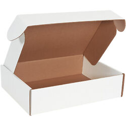 16 X 12 X 4 White Deluxe Literature Mailers Ect-32b 50/case