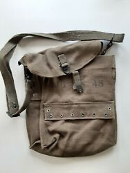 Original Unit Marked French Indo China Vietnam Mle-1951 Combat Medic Web Pouch