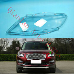Replace Left Side Lucency Headlight Cover + Glue For Lincoln Mkc 2015-2019