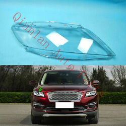 Replace Right Side Lucency Headlight Cover + Glue For Lincoln Mkc 2015-2019