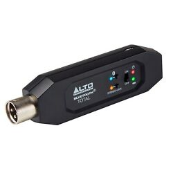 Alto Bluetooth Total Mkii Mk2 Xlr Rechargeable Bluetooth Audio Receiver Adapter