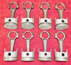 1968-1971 Ford Galaxie T-bird Mercury Monterey Nos 429 Pistons And Connecting Rods