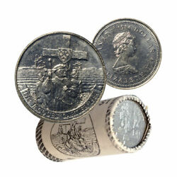 Onepc Canada Coin 1984 Jacques Nickel Dollar 1 From Roll