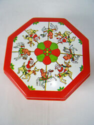 Plastic Christmas Cookie Container Ullman Company.