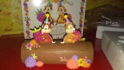 Chip And Chap Figurine - Dale - A And B Squirrel Length 6 11/16in - Walt Disney