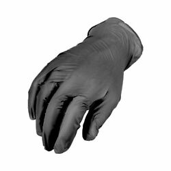 4000 Pieces Black Synthetic Vinyl Tattoo Piercing Powder Free Gloves Size S
