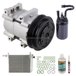 A/c Kit W/ Ac Compressor Condenser And Drier For Ford Ranger 1992 1993