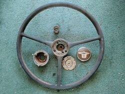 Steering Wheel And Horn Cap Chevy Chevrolet 1941-48 1946 42 47 48 1948 1947