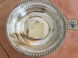 Wallace Sterling Silver 4102 Halifax Vegetable Bowl 297 Grams