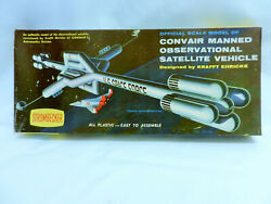 Original 1950and039s Issue Strombecker Convair Manned Satellite Vehicle Model Kit