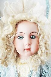 Antique Reproduction Long Face Jumeau Therersa Nicole Patricia Loveless Doll New