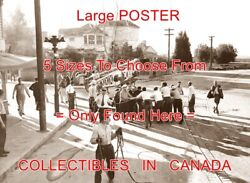 Magnificent Ambersons 1942 Horse Drawn Buggy On Set = Poster 5 Sizes 10 - 19
