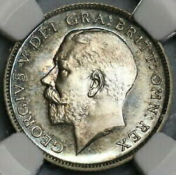 Gold Coin Silver Antique Coins 1911 Ngc Pf 66 British 6pence George Proof