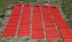 Nike Authentic Rare Vintage 1990s Lot Of 5 Display Advertising Slat Wall Banners