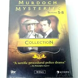 Murdoch Mysteries Collection Seasons 5-8 Dvd Brand New Free Shipping