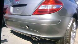 05-11 Mercedes Slk 350 171 Type Rear Bumper Assembly Free Local Delivery Silver