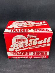 1986 Topps Traded Factory Sealed Baseball Card Set Bonds Jackson Canseco