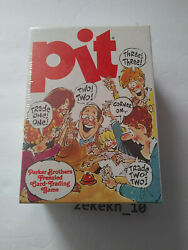 Vintage Parker Brothers Pit Card Game Frenzied Trading Complete New Sealed