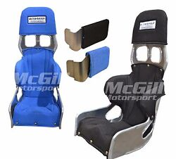 Ultra Shield Junior Double Rib Race Bucket Seat + Cover 20 Degree Size 11 Or 12