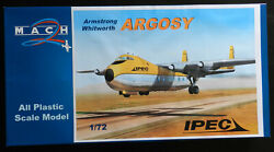 Mach 2 1/72 Armstrong Whitworth Argosy Ipec With Hawkeye Models Decals