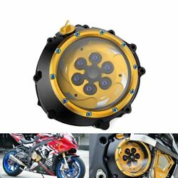 Bmw S1000rr Cnc Racing Clear Clutch Cover And Spring Retainer Hp4 S1000r Xr