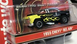 Auto World 55 Chevy Bel Air Black Flames X-traction Protinker Toys Exclusive